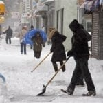 Shovel Snow In The Winter For Cash