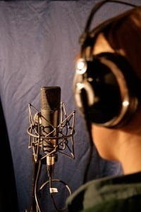 voice-over station
