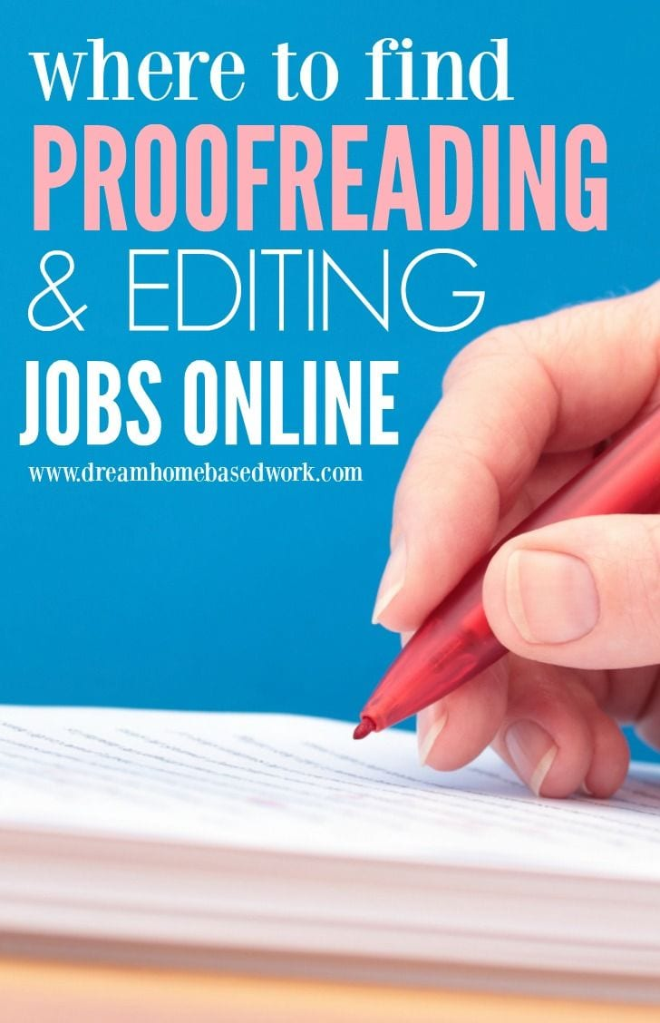 Online proofreading service work